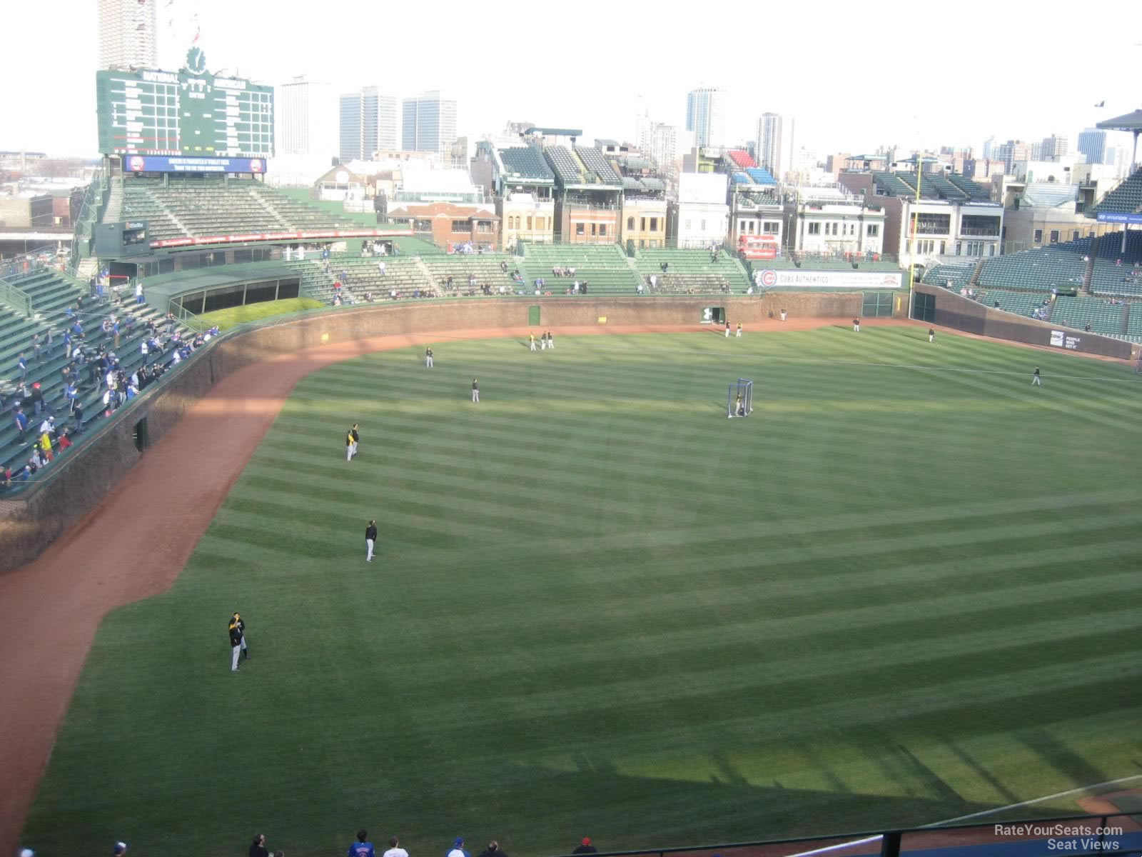 Wrigley Field Section 404 - Chicago Cubs - RateYourSeats.com