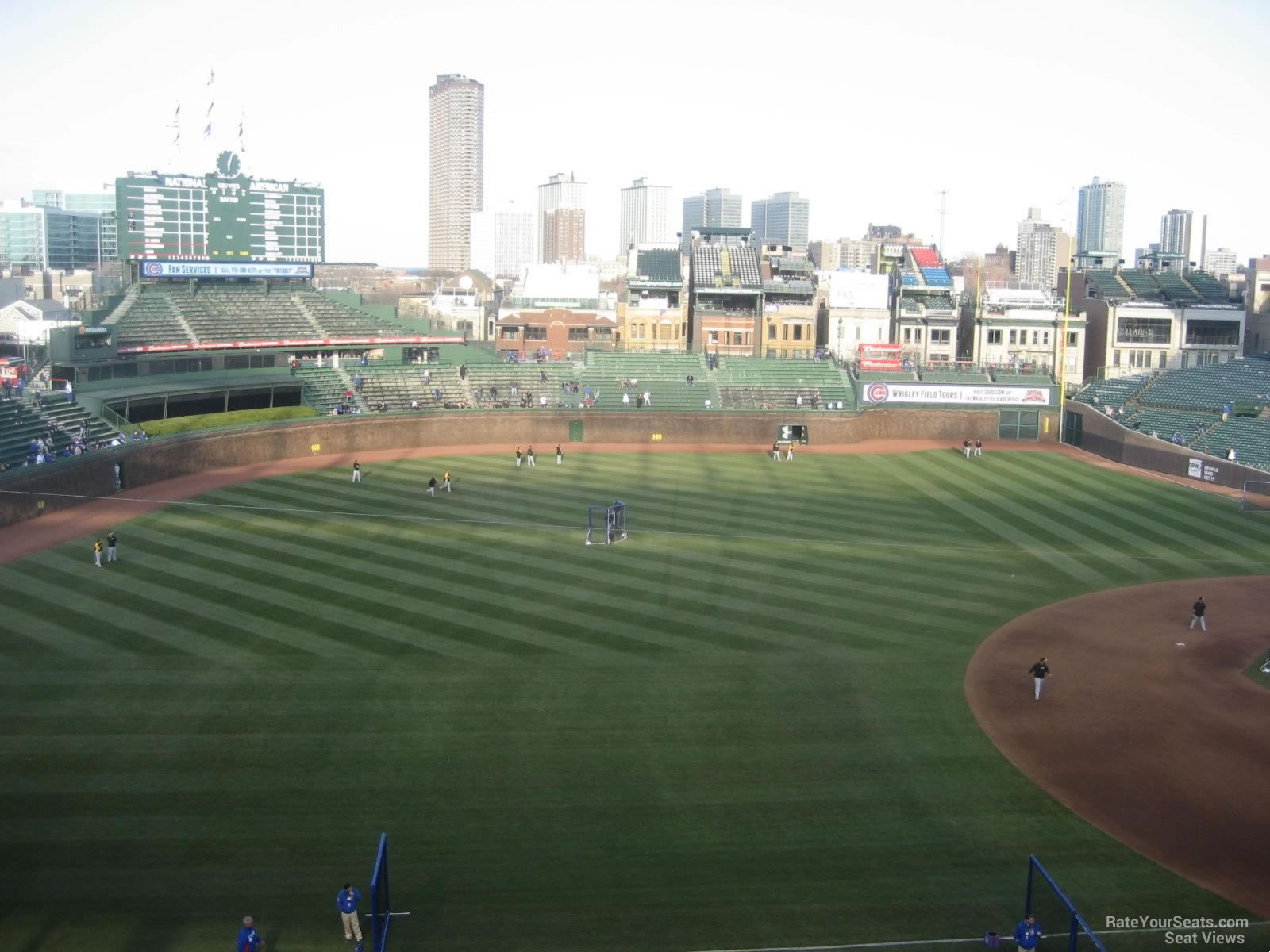 Wrigley Field Section 409 - Chicago Cubs - RateYourSeats.com
