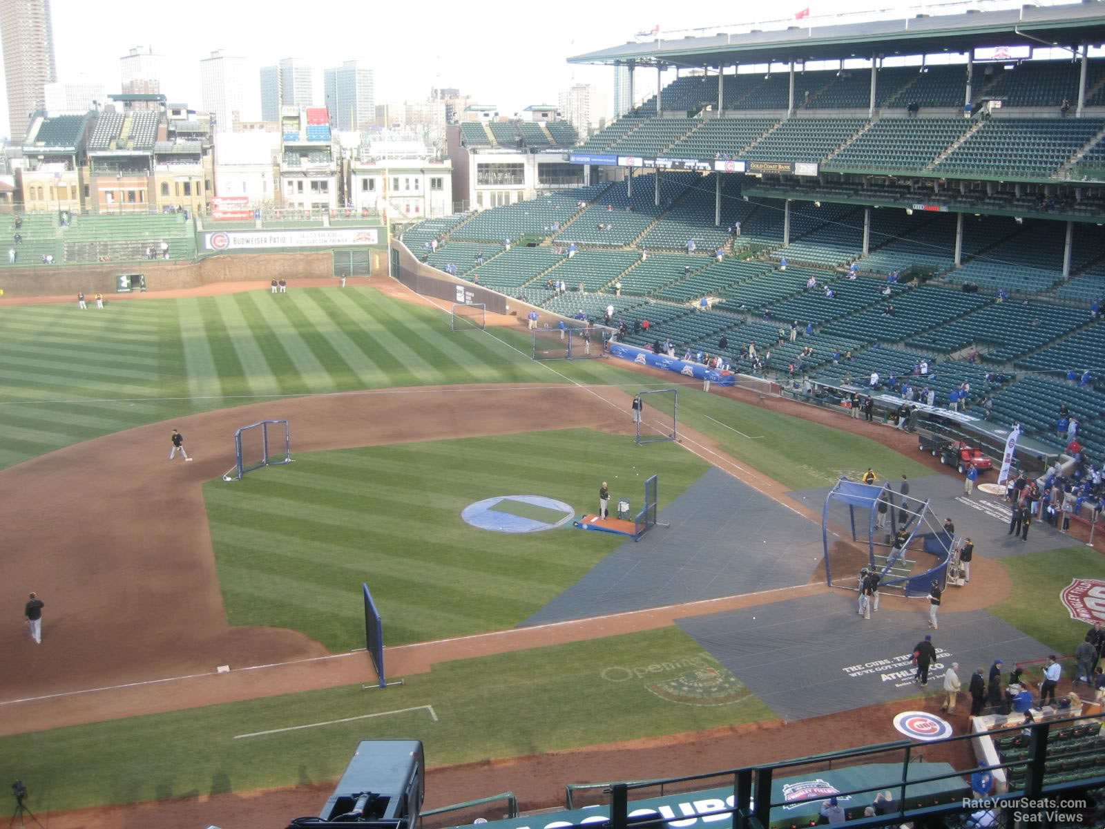 Wrigley Field Section 413 - Chicago Cubs - RateYourSeats.com
