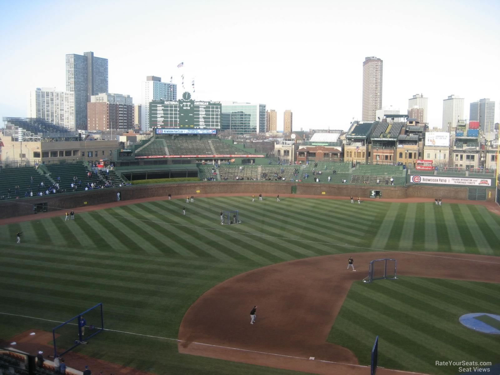 Wrigley Field Section 415 - Chicago Cubs - RateYourSeats.com