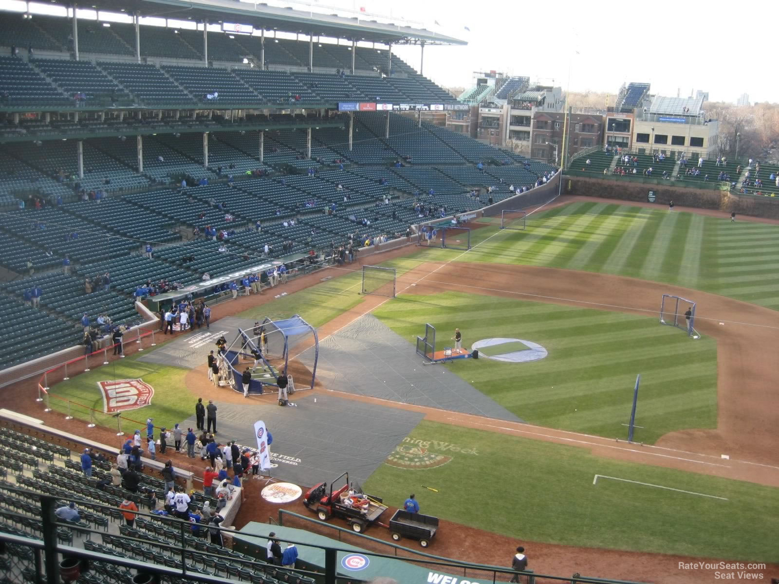 Wrigley Field Section 429 - Chicago Cubs - RateYourSeats.com