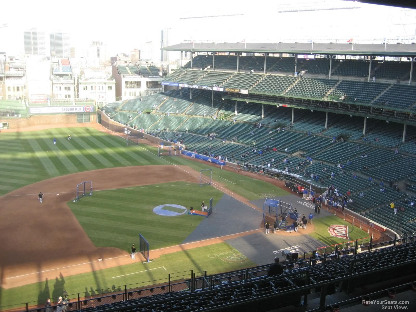 Wrigley Field Section 512 - Chicago Cubs - RateYourSeats.com