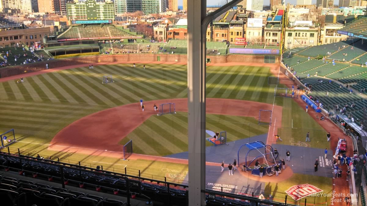 Wrigley Field Section 517 Chicago Cubs Rateyourseats Com