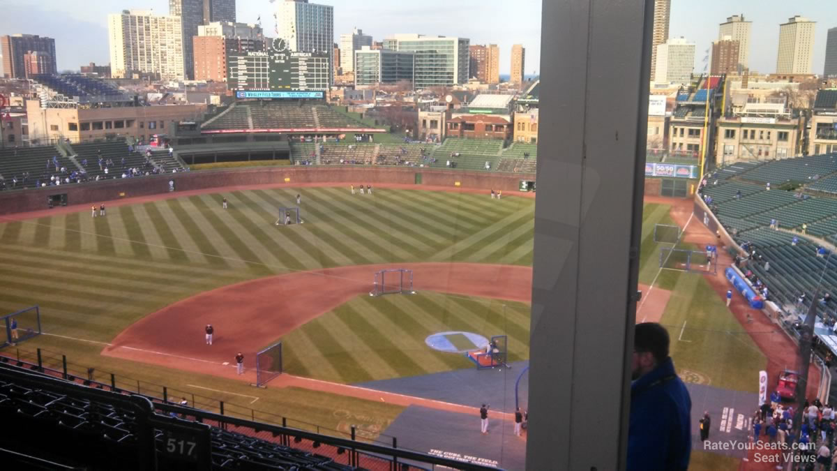 Wrigley Field Section 518 - Chicago Cubs - RateYourSeats.com