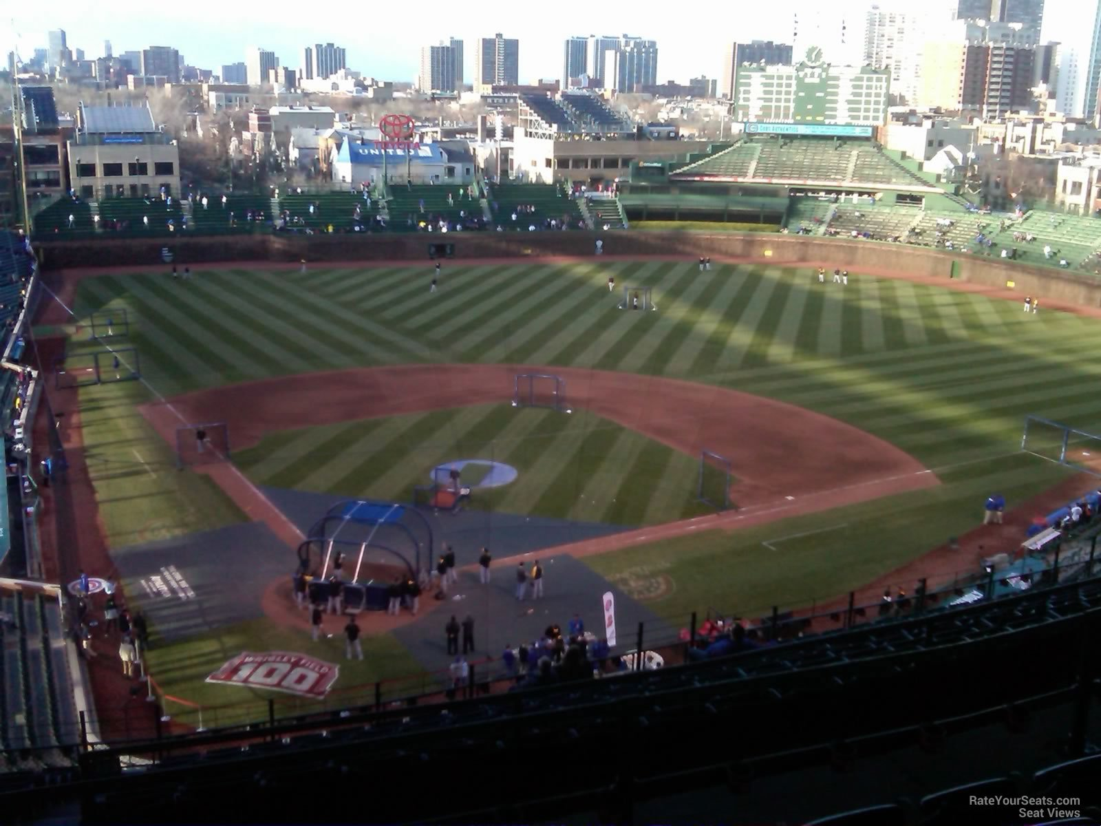 Wrigley Field Section 523 - Chicago Cubs - RateYourSeats.com