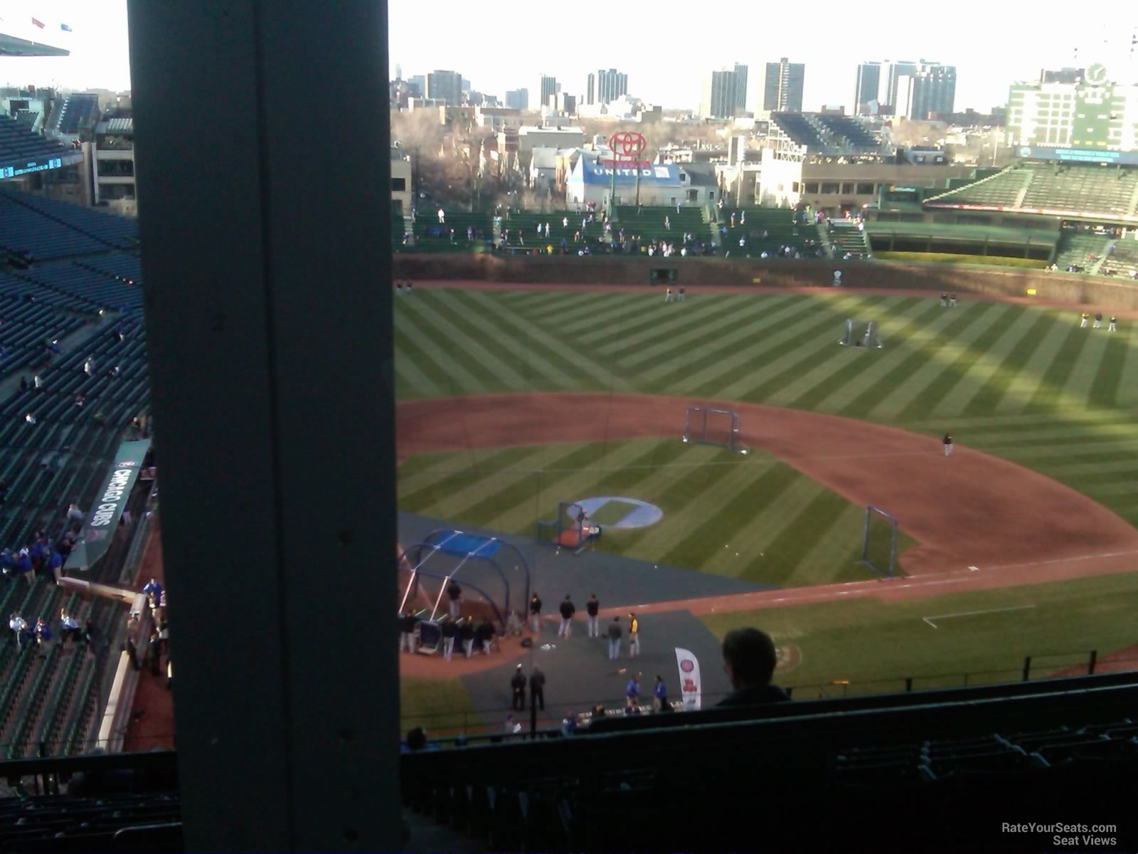Wrigley Field Section 524 - Chicago Cubs - RateYourSeats.com