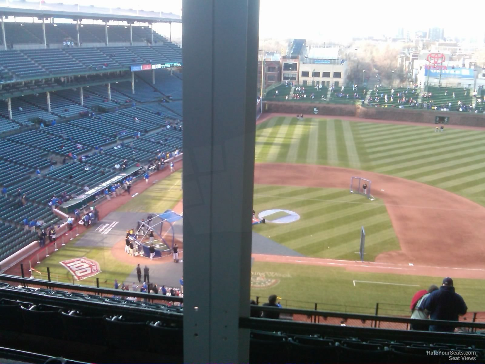 Wrigley Field Section 528 - Chicago Cubs - RateYourSeats.com