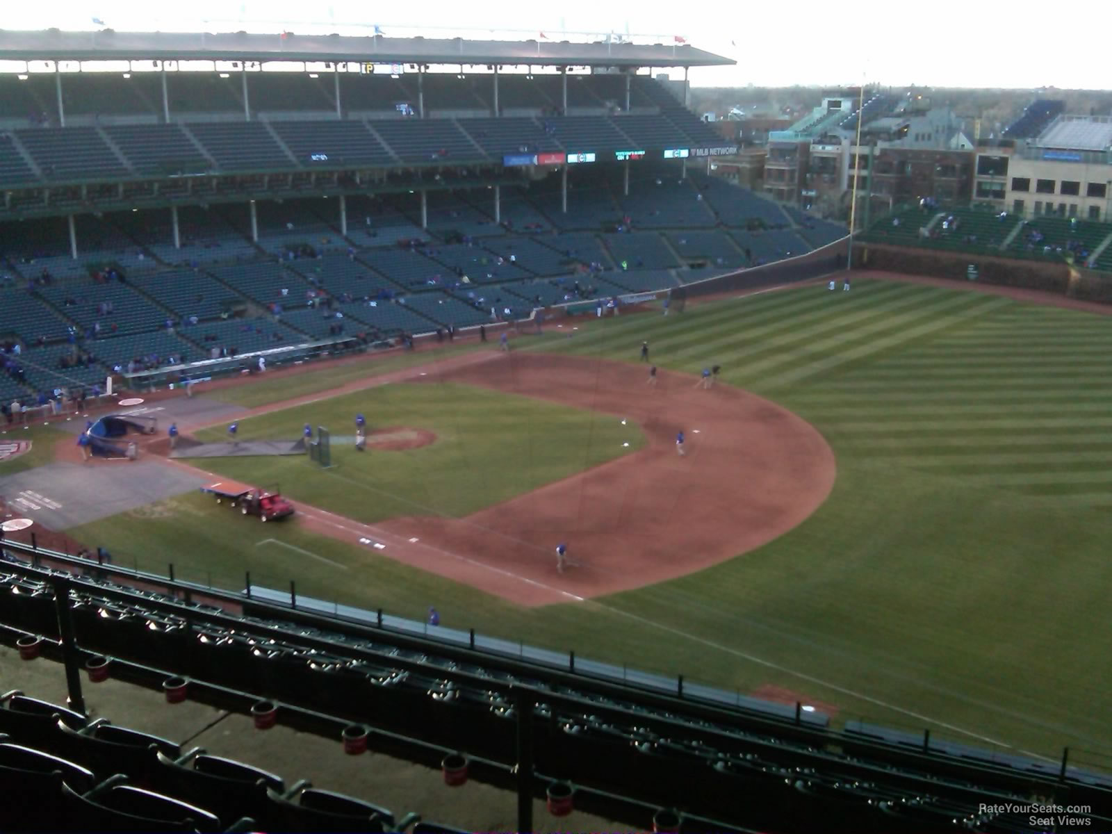 Wrigley Field Section 534 - Chicago Cubs - RateYourSeats.com