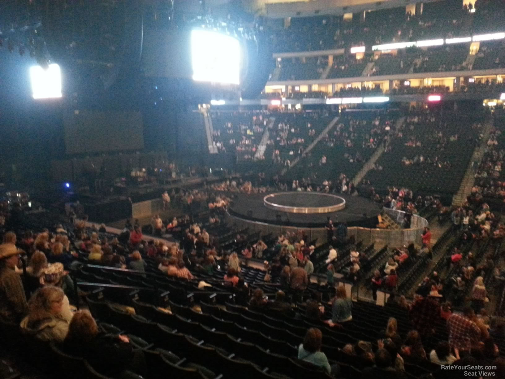 Xcel Energy Center Section 116 Concert Seating