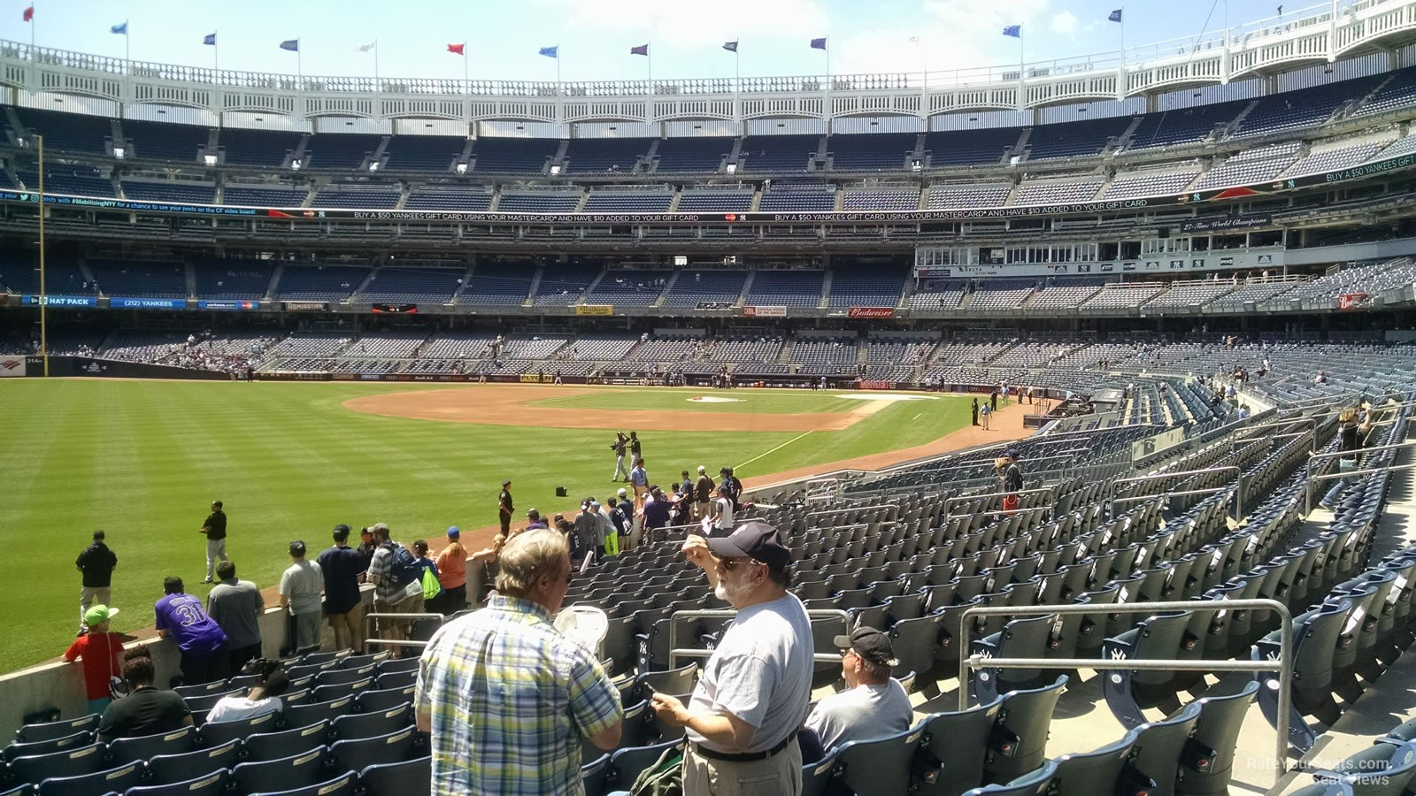 Yankee Stadium Section 131 - New York Yankees ...