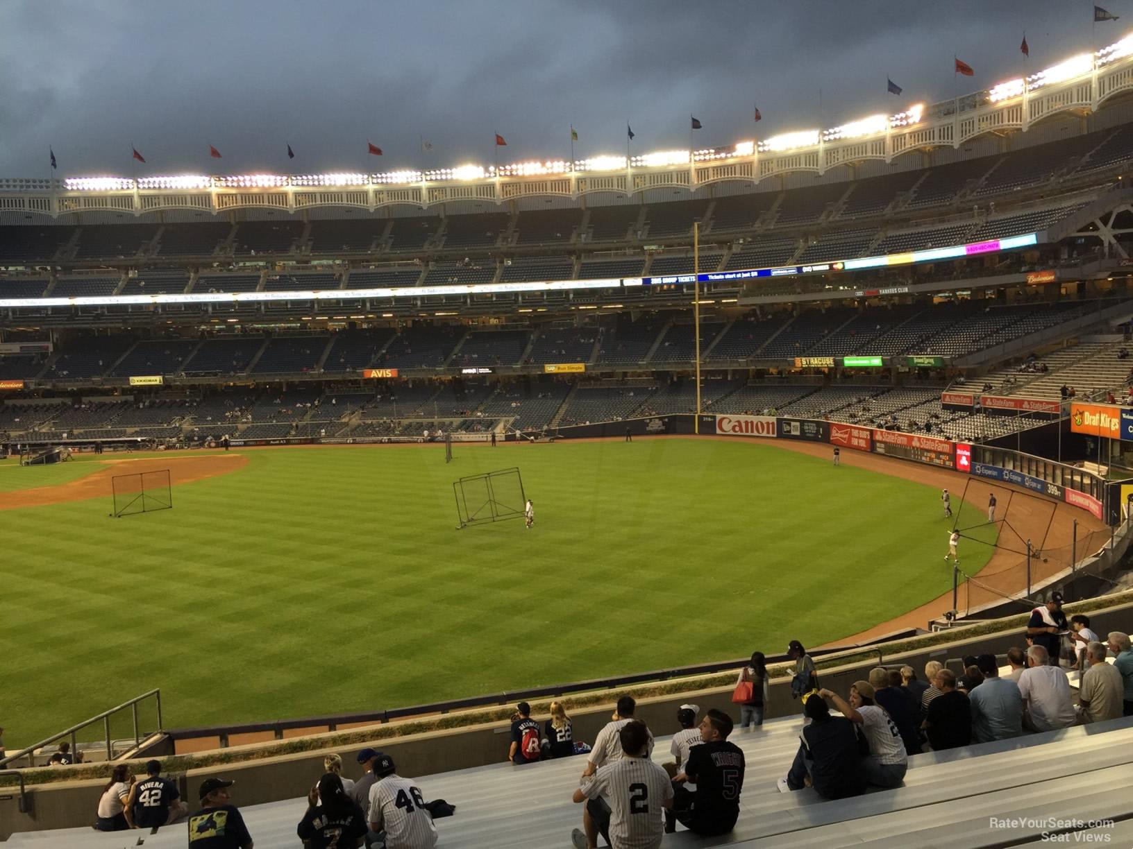 Yankee Stadium Section 202 - New York Yankees ...