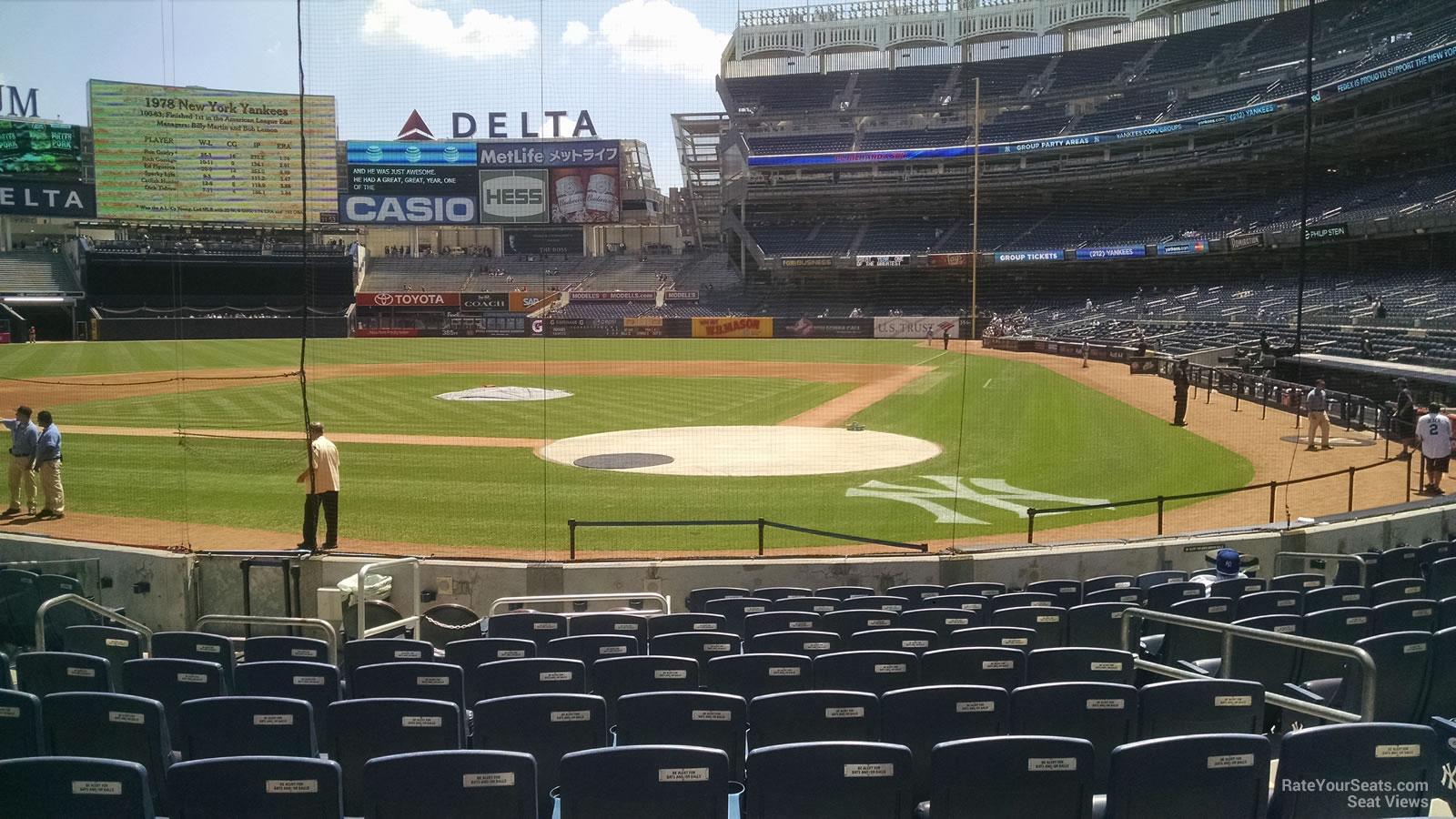 Yankee Stadium Section 21b New York Yankees