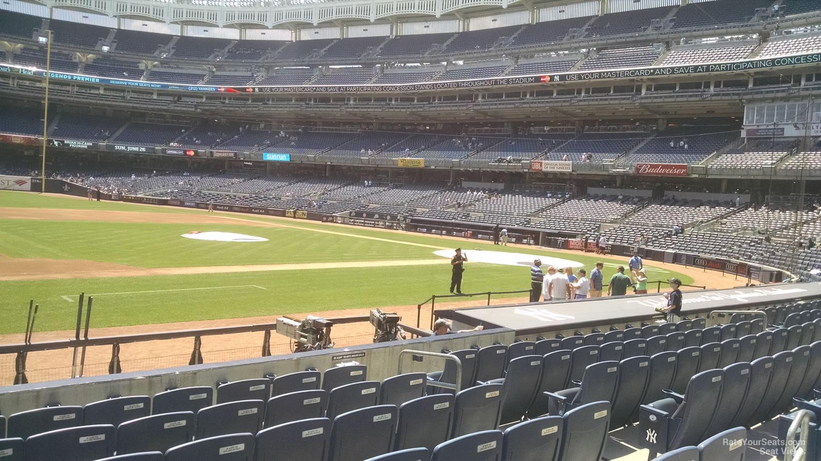Yankee Stadium Section 25 New York Yankees