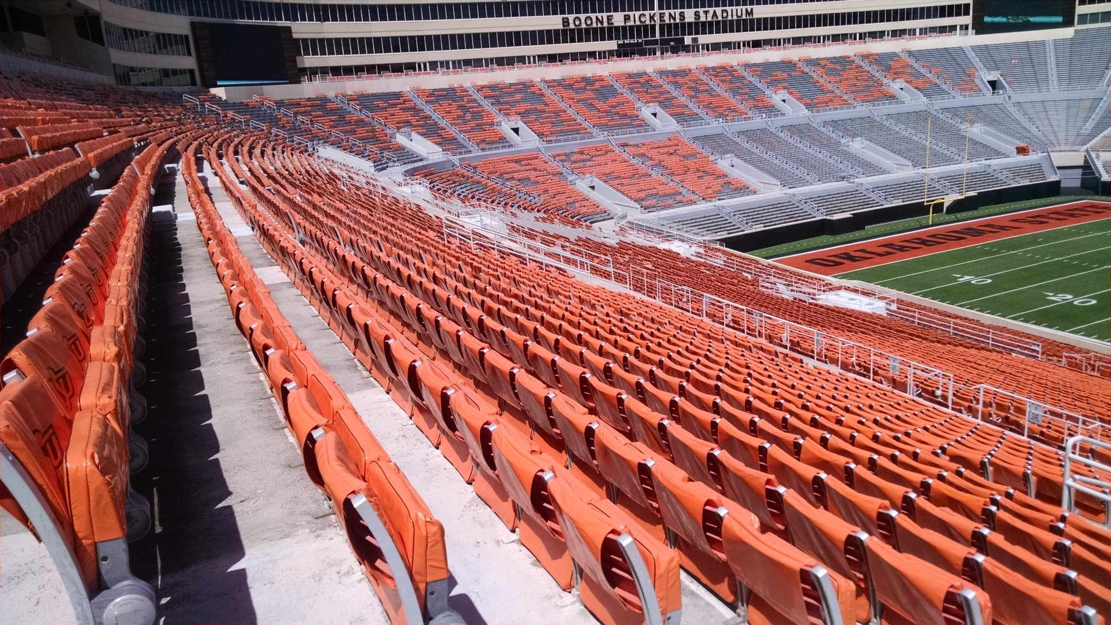 Boone Pickens Stadium 300 Level Sideline Football