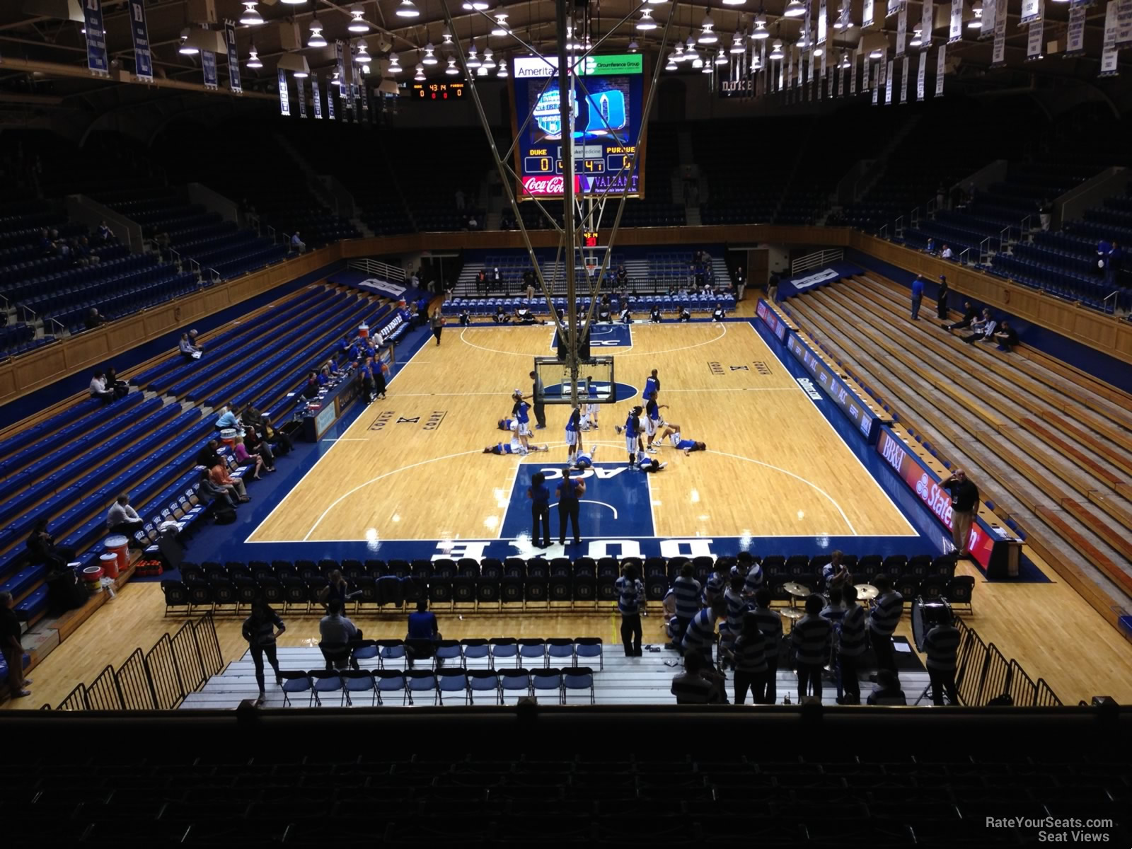 Cameron Indoor Stadium Section 10 Rateyourseats Com