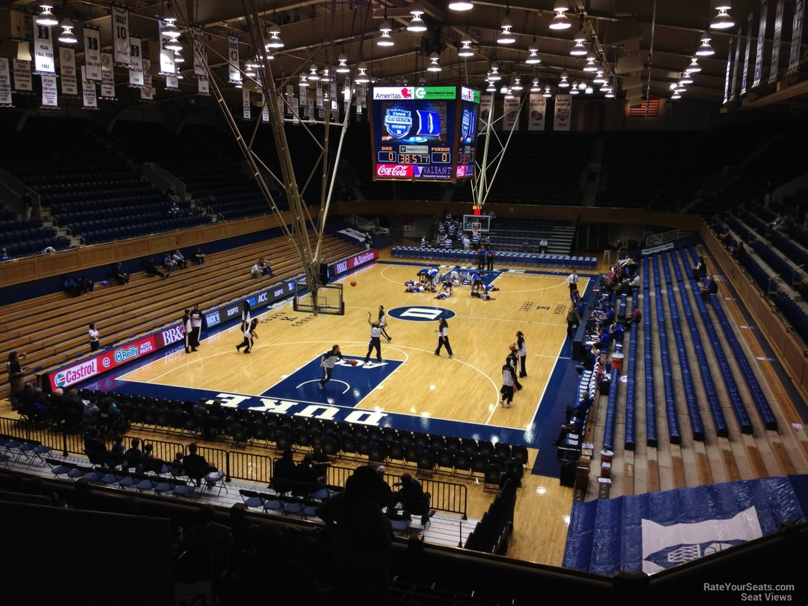 Cameron Indoor Stadium Section 3 Rateyourseats Com