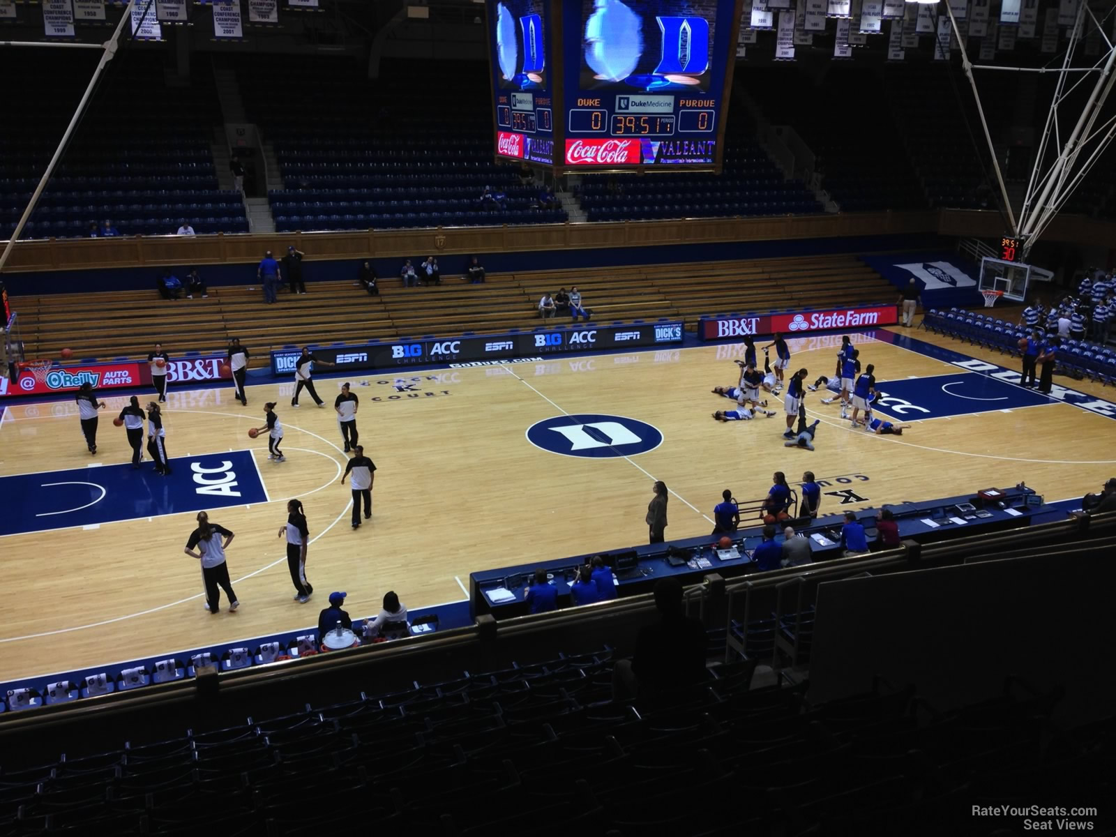 Cameron Indoor Stadium Section 6 Rateyourseats Com