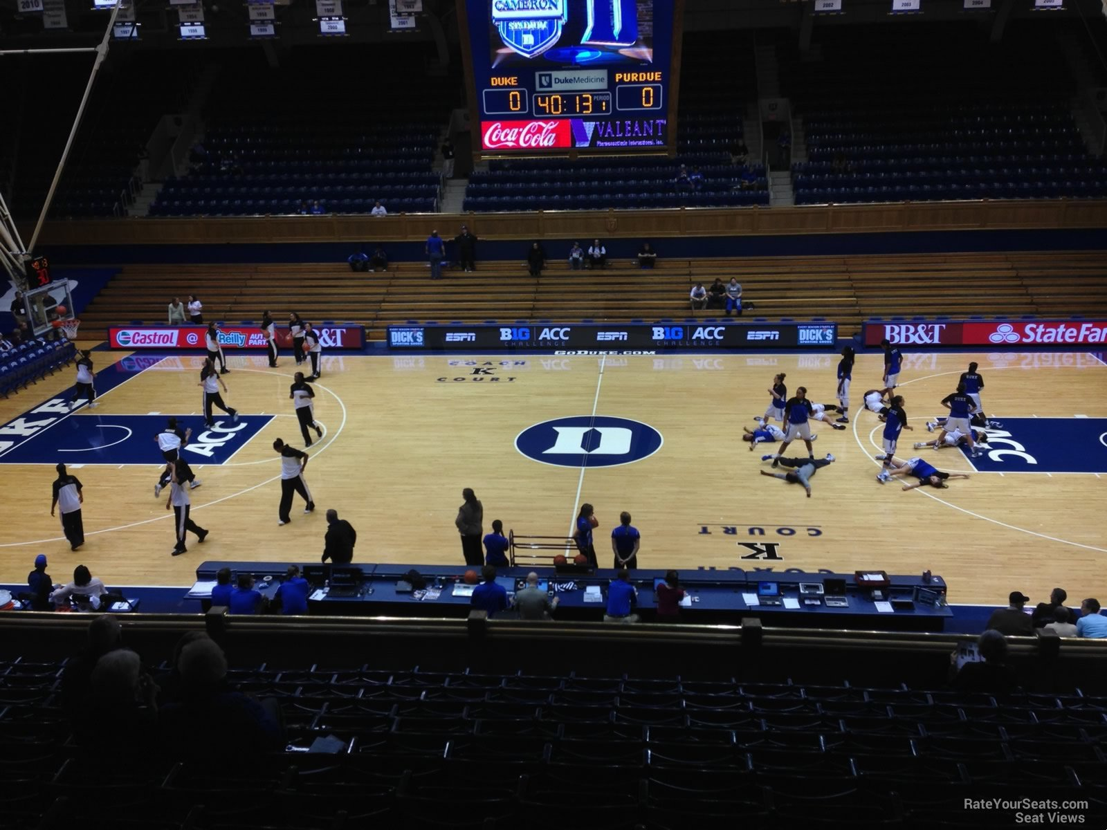 Cameron Indoor Stadium Section 7 Rateyourseats Com