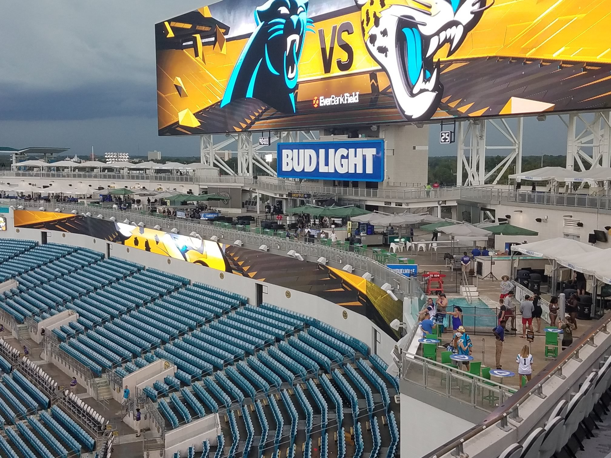 Jacksonville Jaguars Seating Guide Tiaa Bank Field