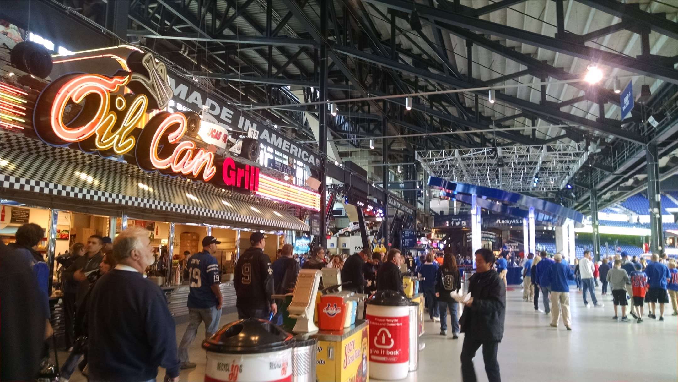 What Do Jaguars Eat >> Indianapolis Colts Seating Guide - Lucas Oil Stadium ...