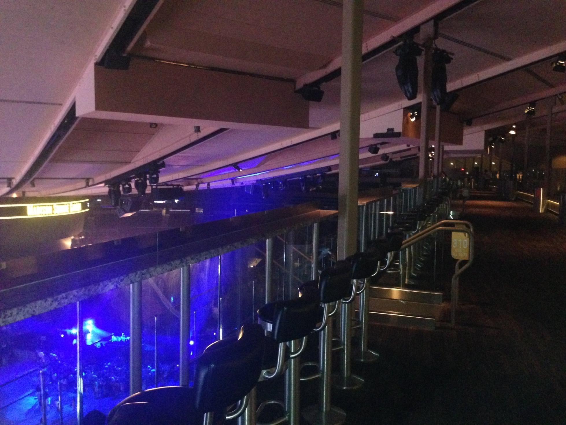 Madison Square Garden Chase Bridges Concert Seating
