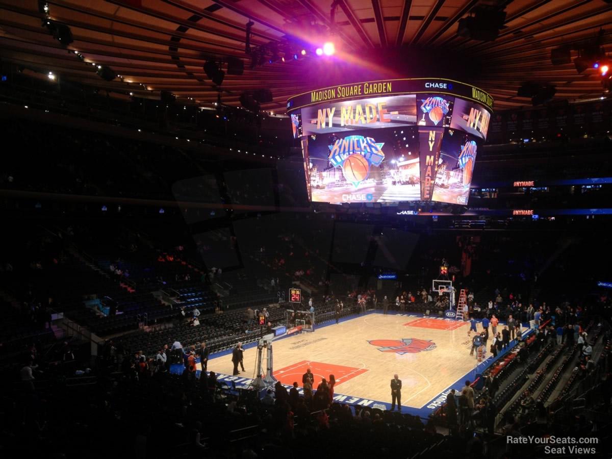 Madison Square Garden Section 103 - New York Knicks ...