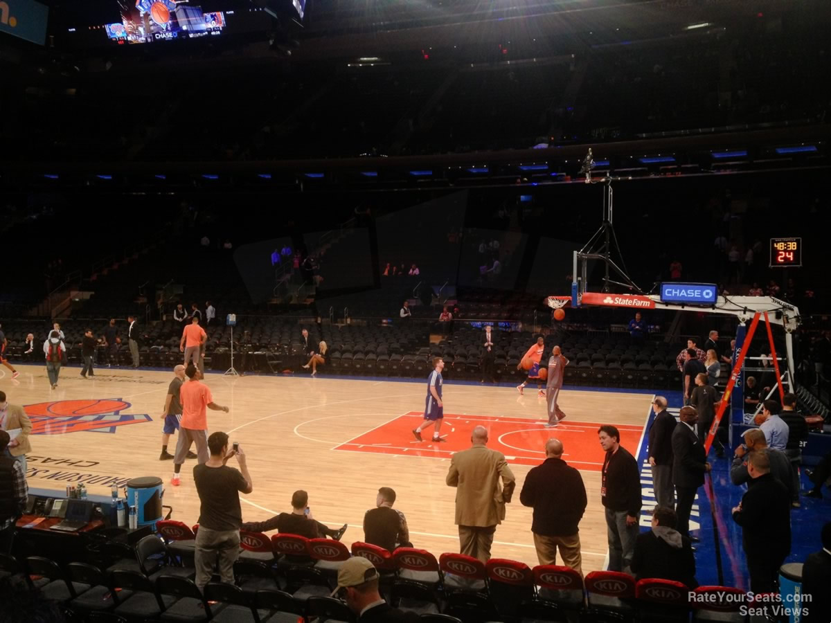 Madison Square Garden Section 108 - New York Knicks ...
