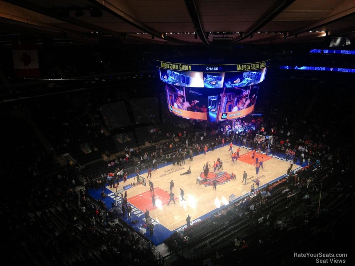 Madison Square Garden Section 310 New York Knicks