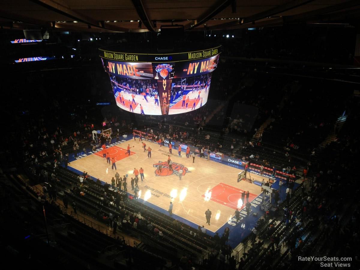 Madison Square Garden: Madison Square Garden Section 328