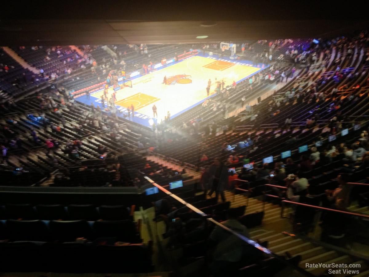 Madison Square Garden Section 420 New York Knicks