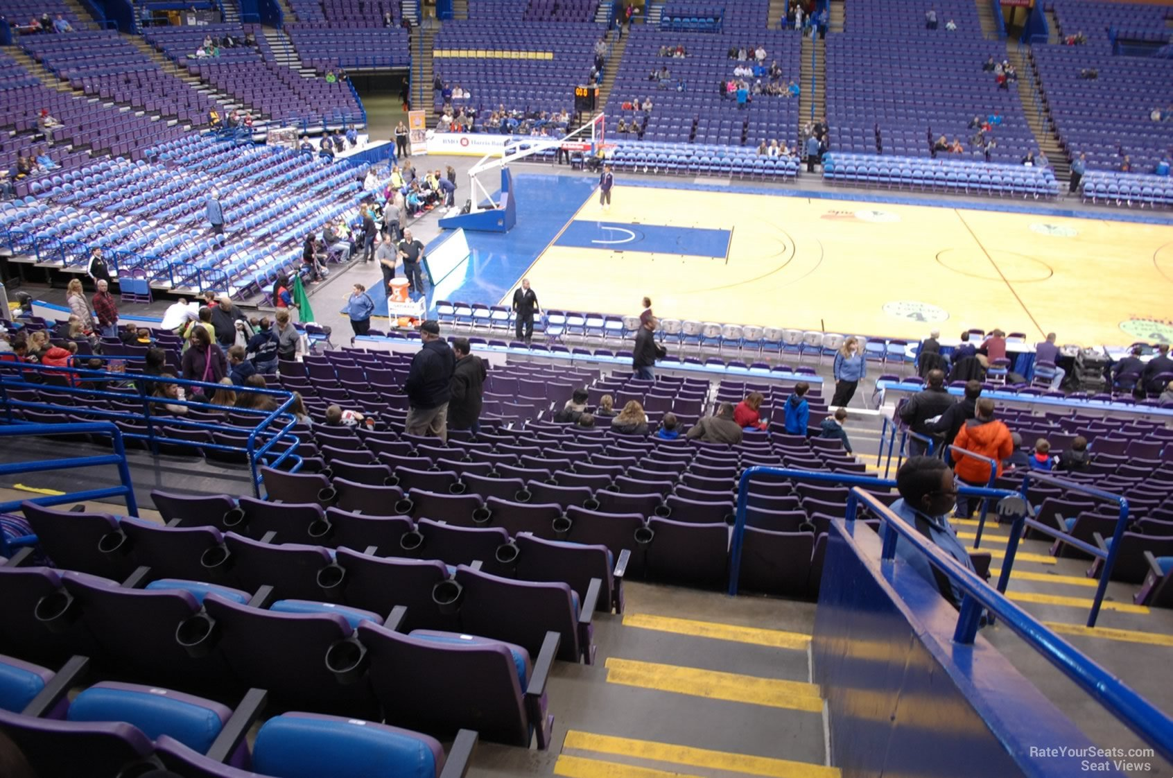 Enterprise Center Section 104 Basketball Seating