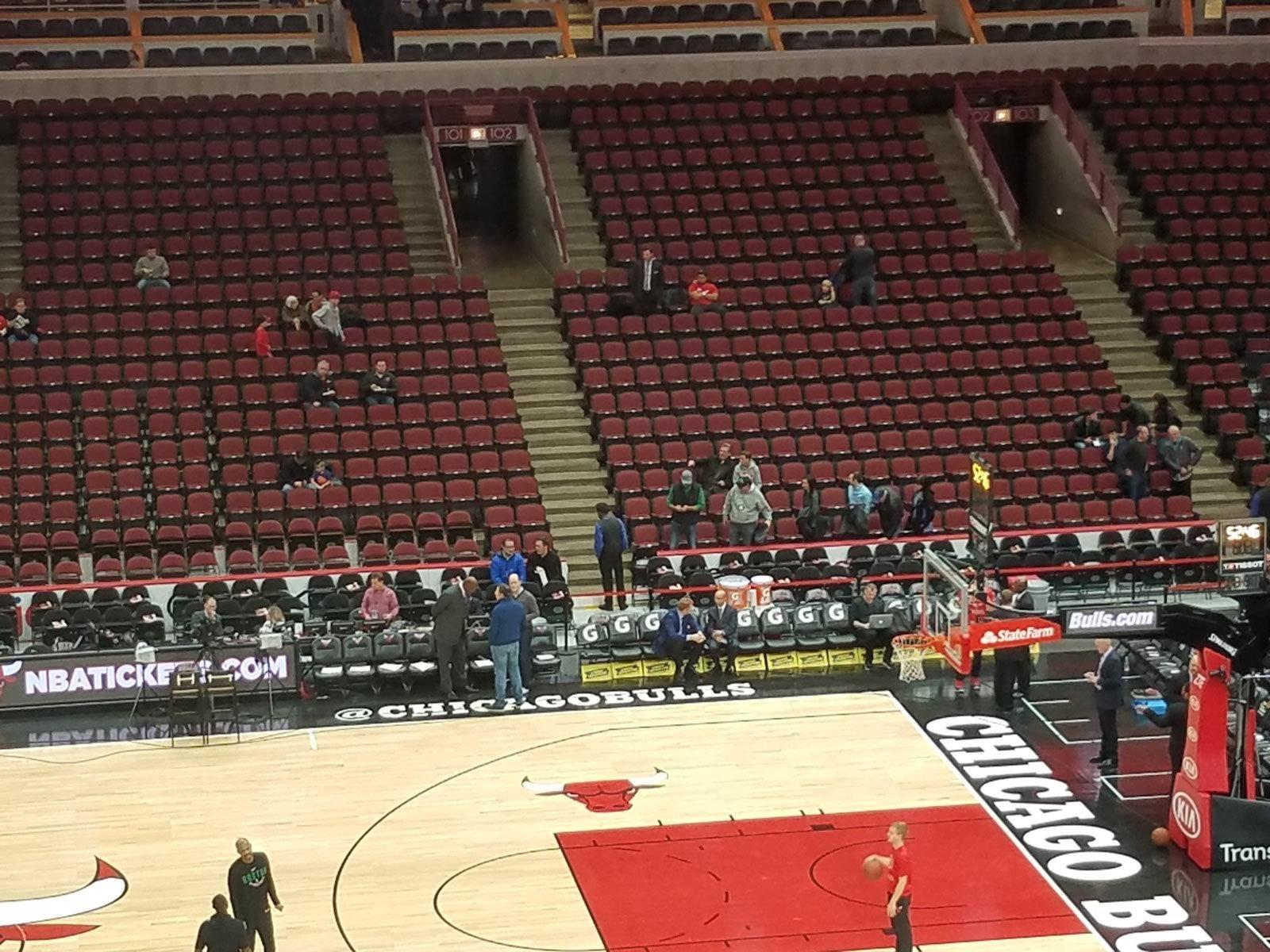 Chicago Bulls Seating Guide United Center