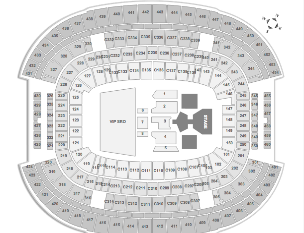 ACM Awards Seating Chart 2015