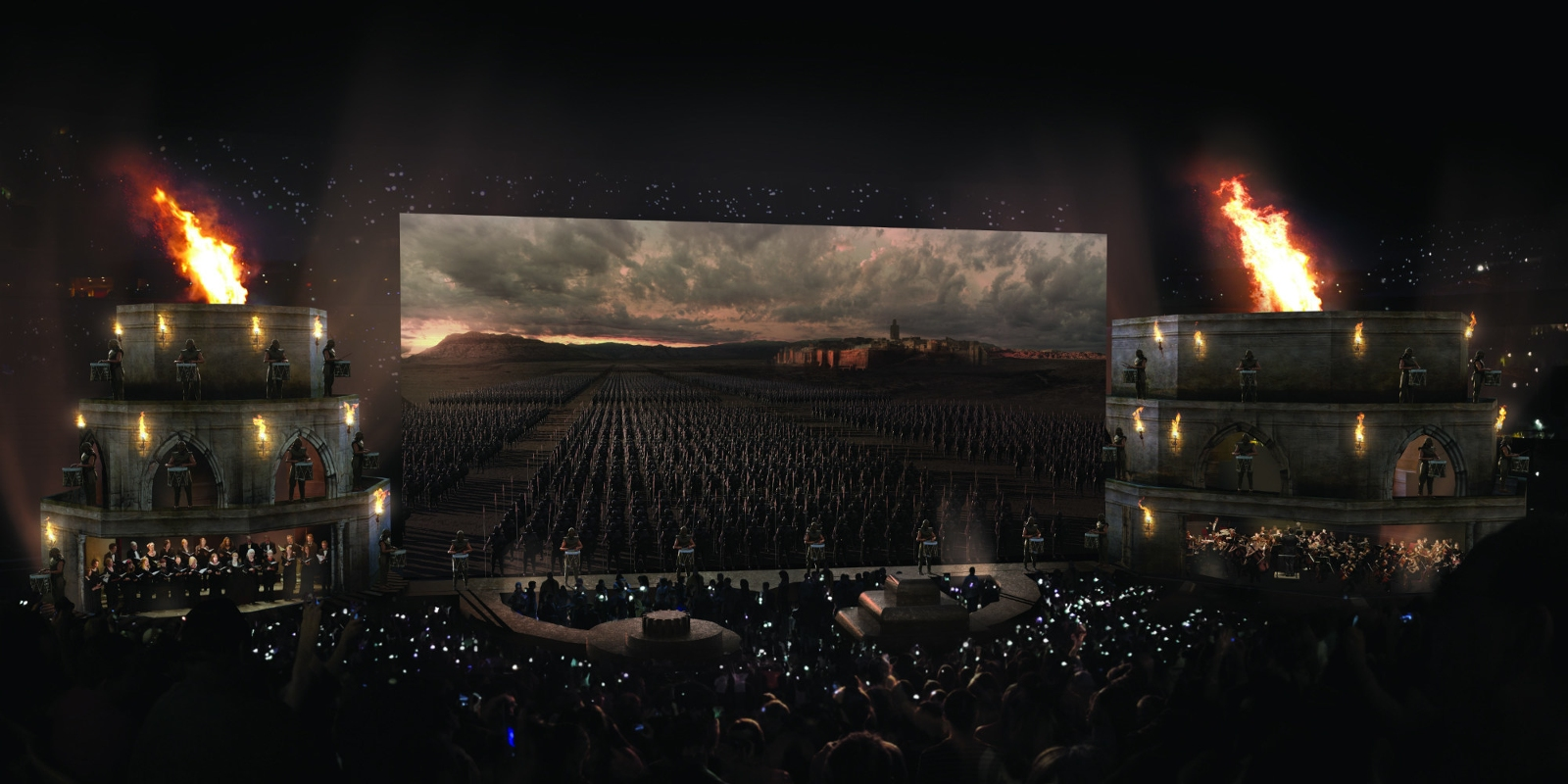 game of thrones concert view