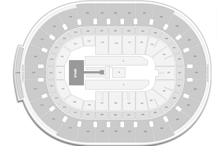 Kelly Clarkson Canadian Tire Center Seating Chart