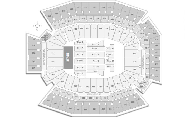 Kevin Hart Lincoln Financial Field Seating Chart What Now Tour