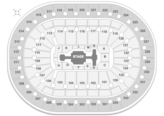 New Kids On the Block Scottrade Center Seating Chart