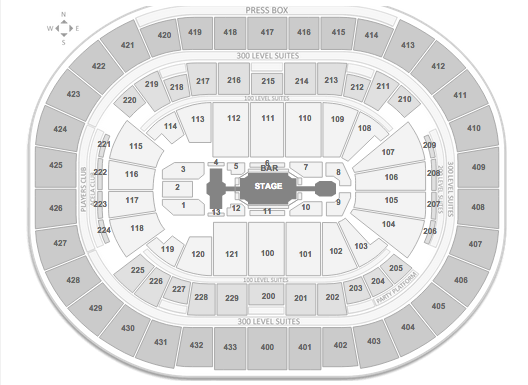 New Kids on the Block Verizon Center seating chart