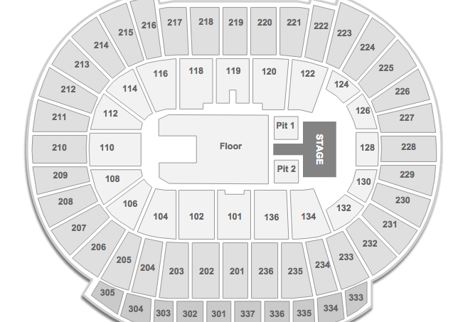 Rexall Place Seating Chart 5 Seconds of Summer