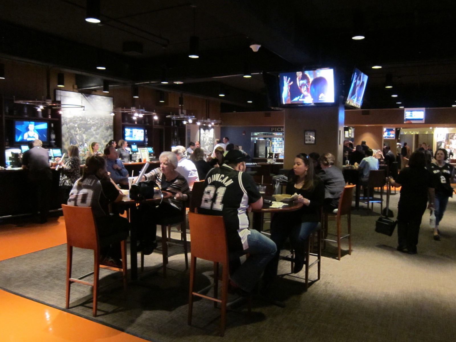 AT&T Center Club Concourse