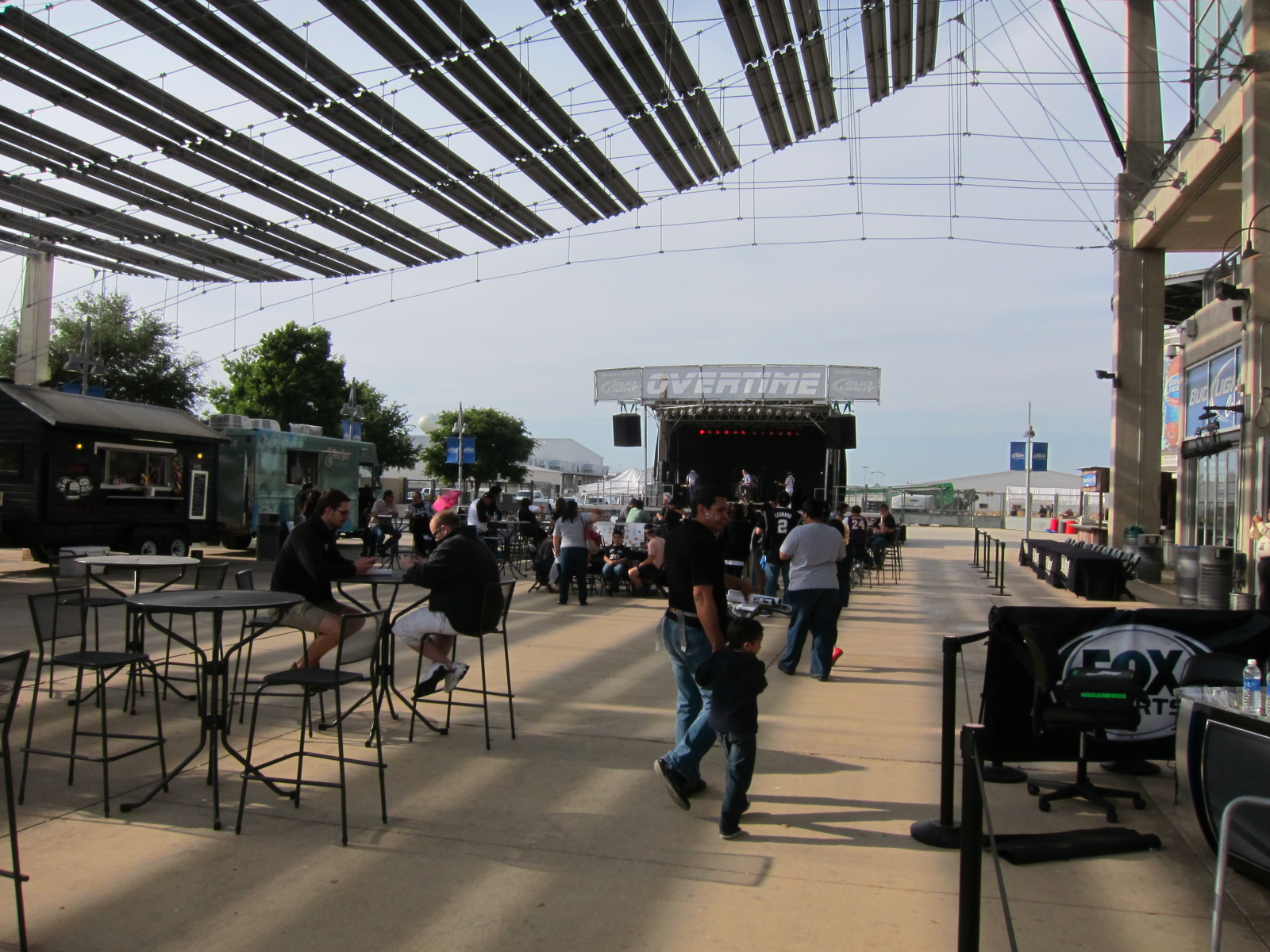 Outdoor Patio at the AT&T Center