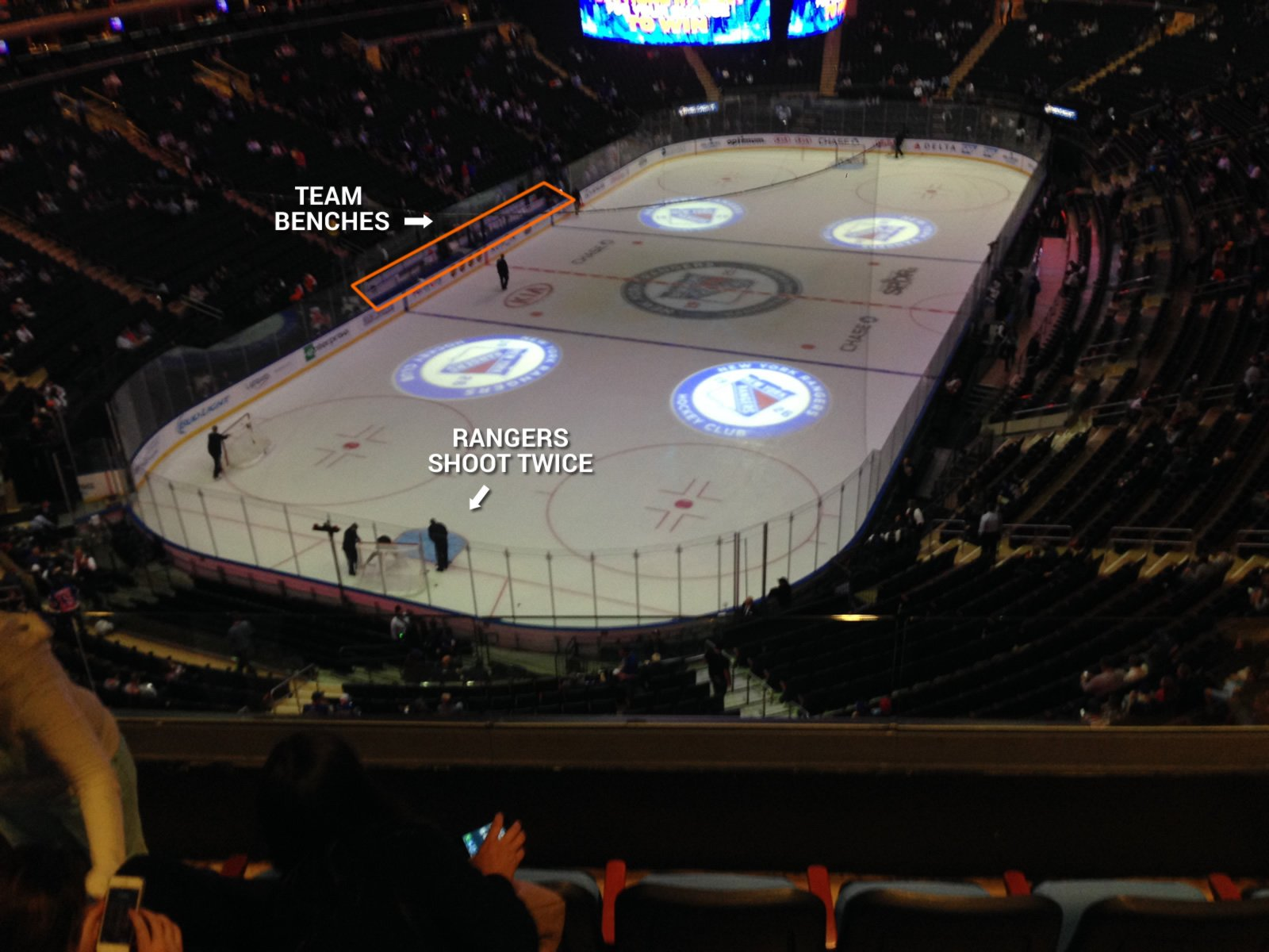 WHERE ARE THE BEST SEATS FOR NHL GAMES? - YouTube