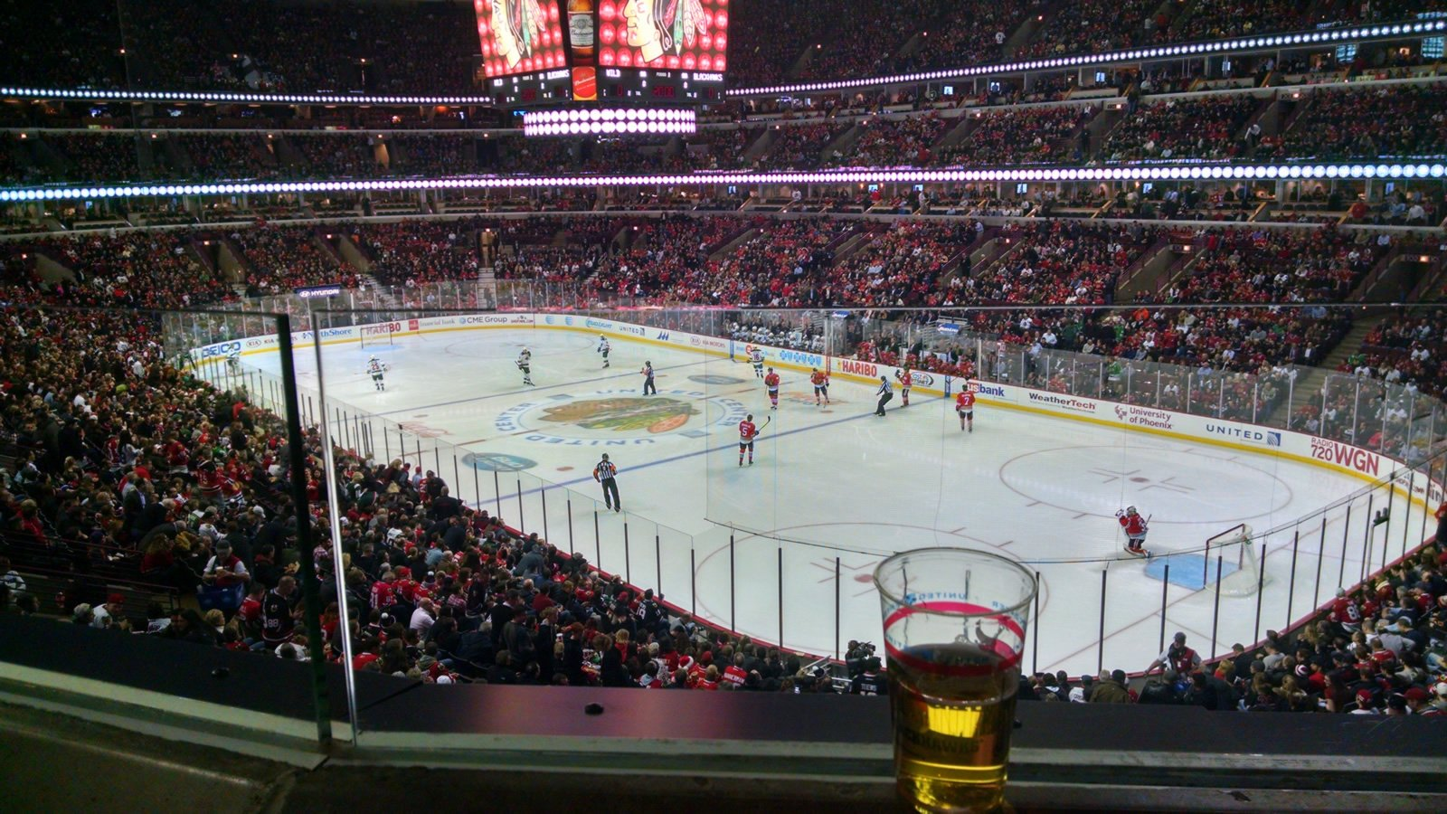 best seats for hockey game