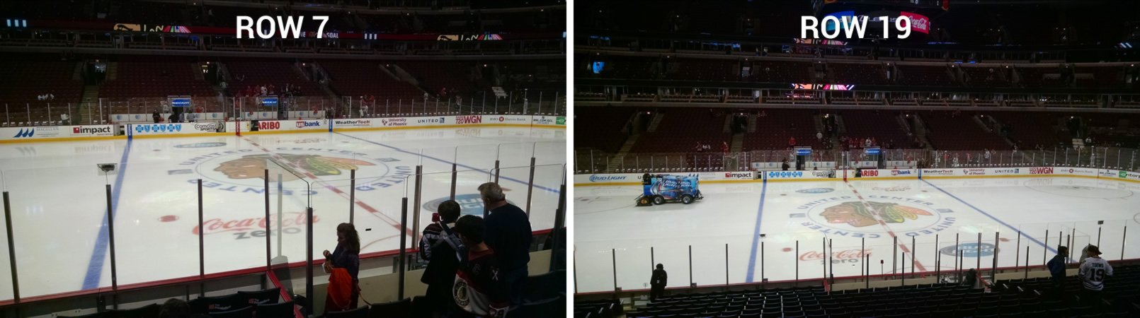 What are the best seats at a hockey games? - Quora