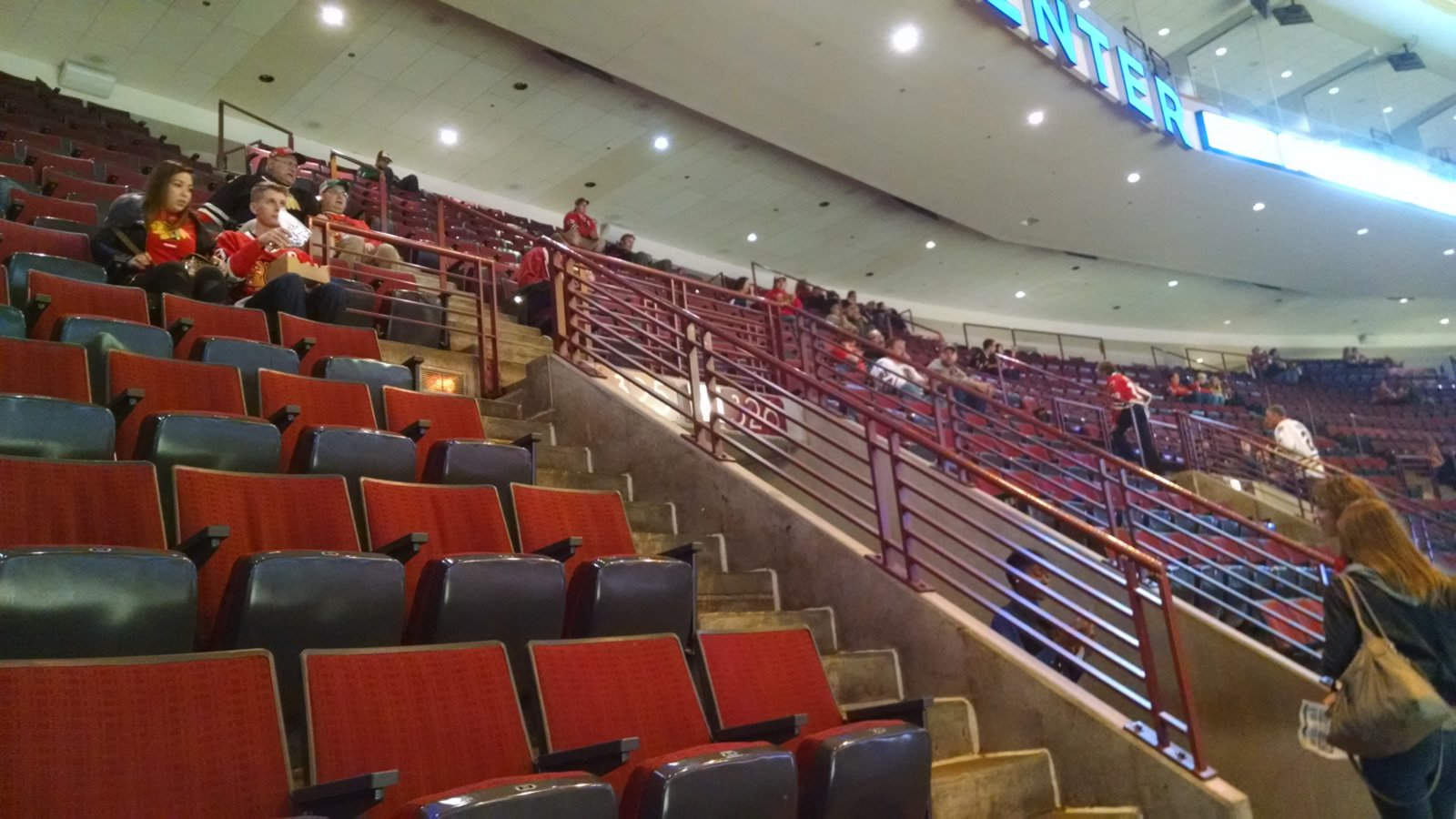 Flyers Hockey Game - Review of Wells Fargo Center ...