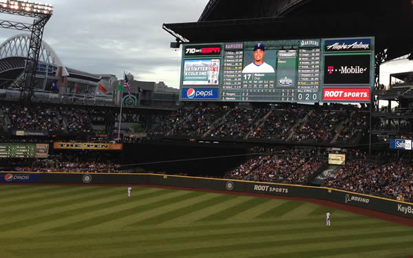 Safeco Field Scoreboard Named Safeco Field One of