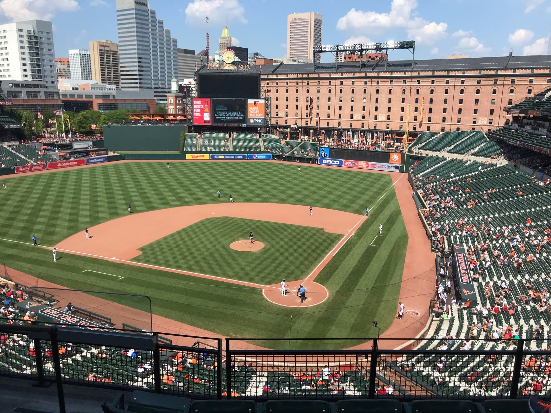 Oriole Park Covered Seats