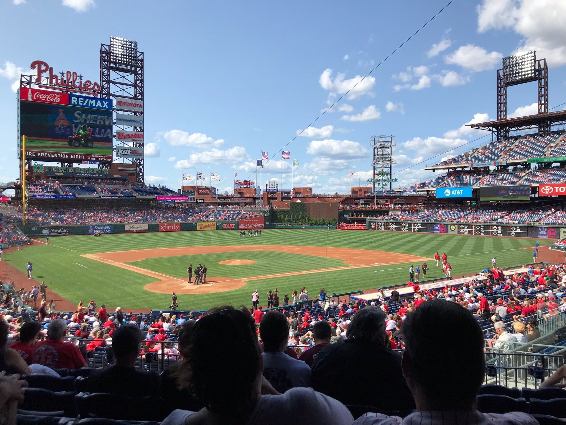phillies shaded seats home plate