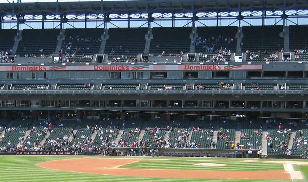 Guaranteed Rate Field Covered Seats
