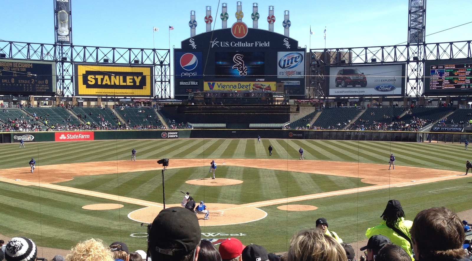 Chicago White Sox Seating Guide Guaranteed Rate Field - Us cellular field seating map